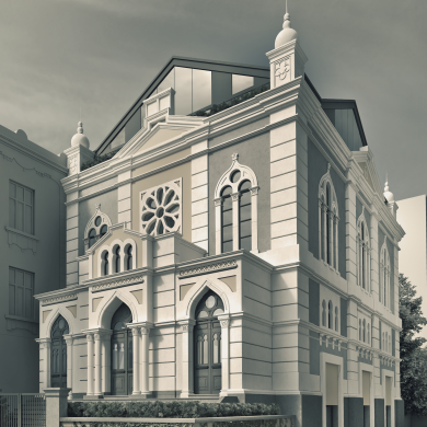 THE SERAPHARDI SYNAGOGUE